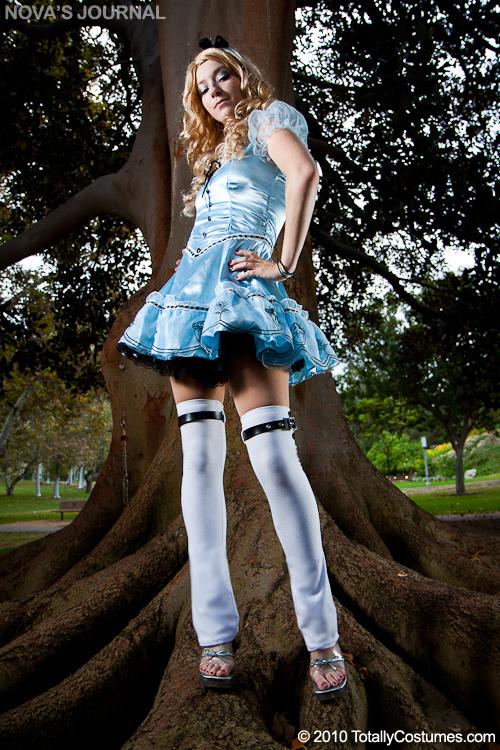 Alice Wonderland 1951 Dress